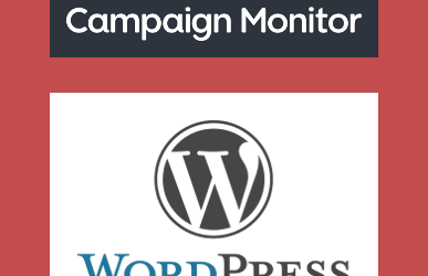 WordPress Ajax Campaign Monitor Widgets