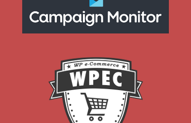 WP e-Commerce Campaign Monitor Integration
